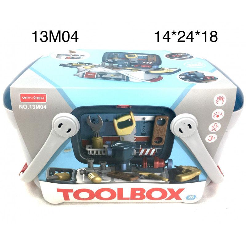 13M04 Набор Инструментом в кейсе