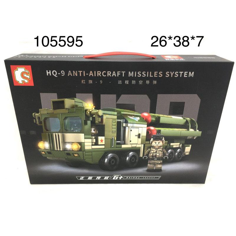 105595 Конструктор Военная машина