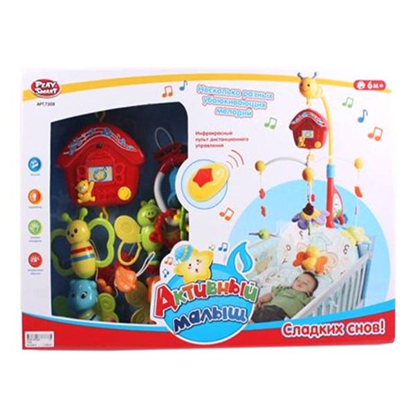 Карусель музыкальная Play Smart серия «Активный малыш» в коробке 52.0х36.0х8.0 см
