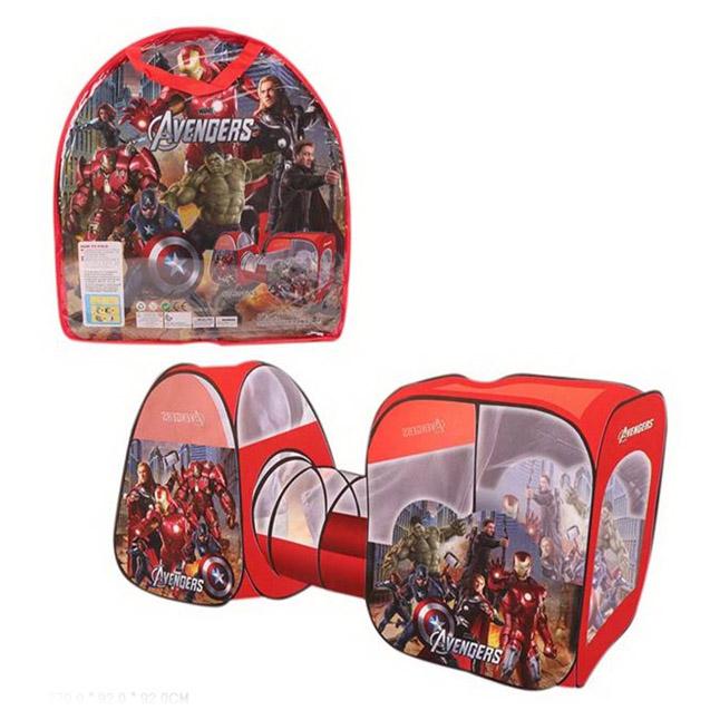 Палатка детская «Мстители» 270.0х92.0х92.0 см
