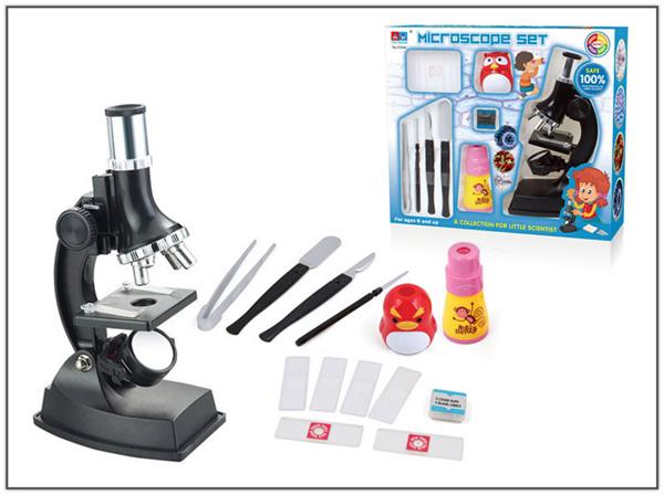 Микроскоп 3104A в коробке 24*8,5*27,5