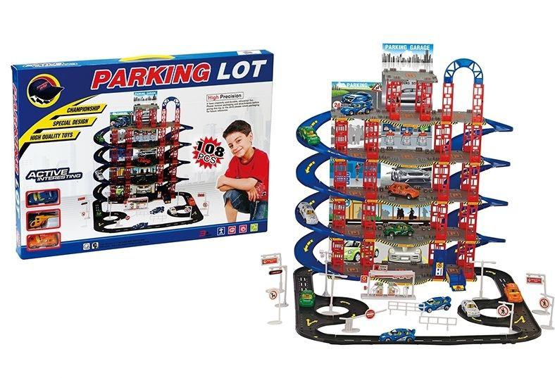 Парковка-гараж №0908-32 многоярусная/коробка/63*5*45