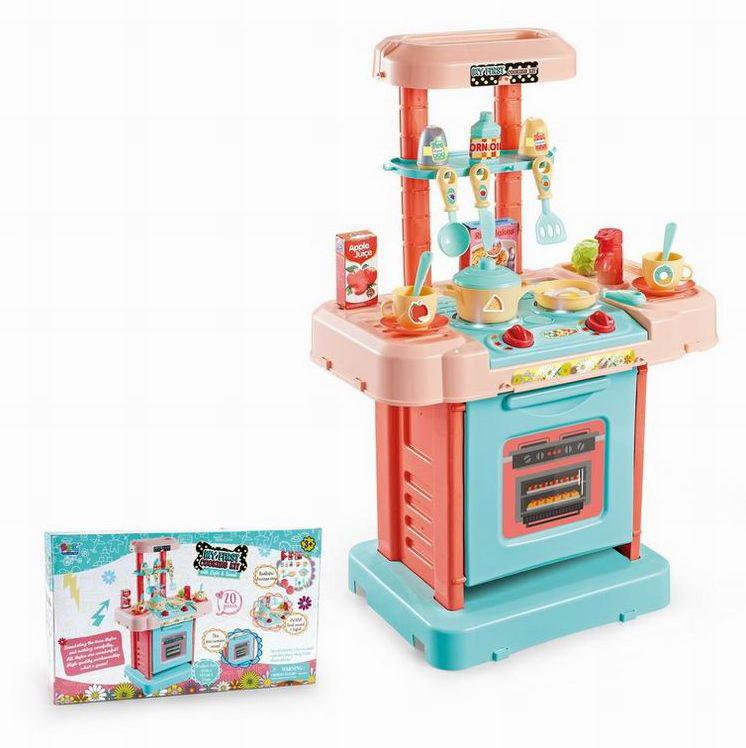 Игровой модуль №16824 Кухня/звук,свет/коробка/41,5*11*25