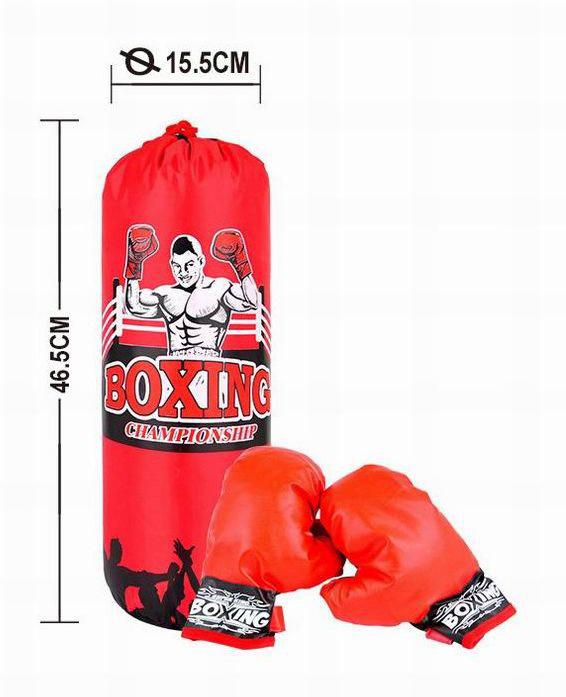 Набор для бокса №321-8 груша с перчатками/сетка/45,5*15,5*15,5