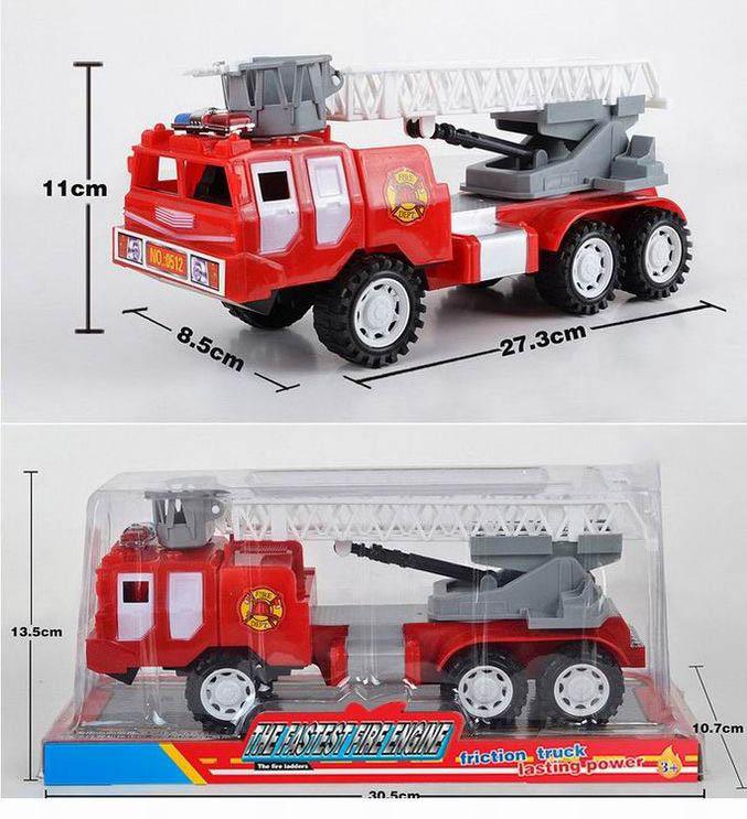 А/м №0512 пожарная инерционная/колпак/30,5см