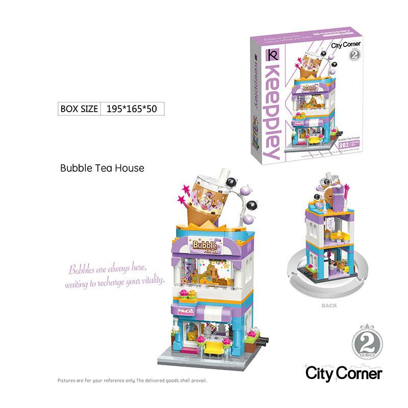 Конструктор C0108 302 дет в коробке 19,5*16,5*5