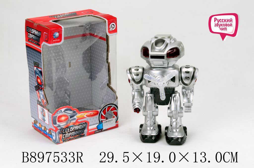 Робот KD-8802 на батарейках в коробке 29,5*19*13