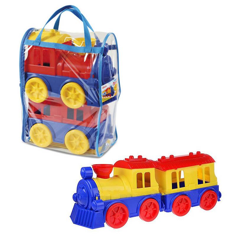 """Игрушка """"Поезд с пасажирским вагоном"""" 0651"""