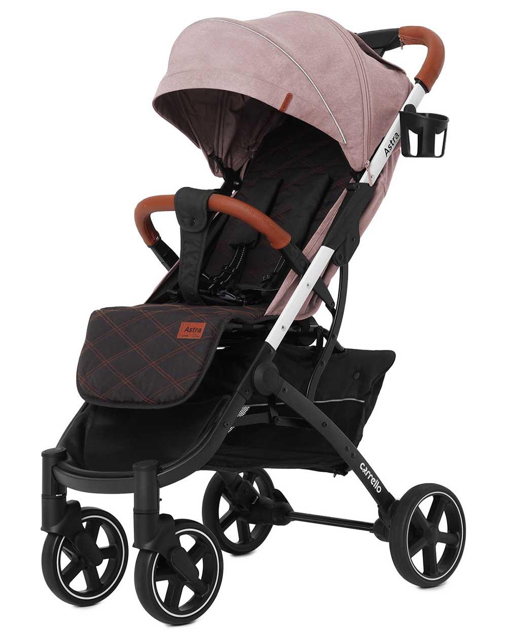 Детская коляска CARRELLO Astra CRL-5505 Apricot Pink