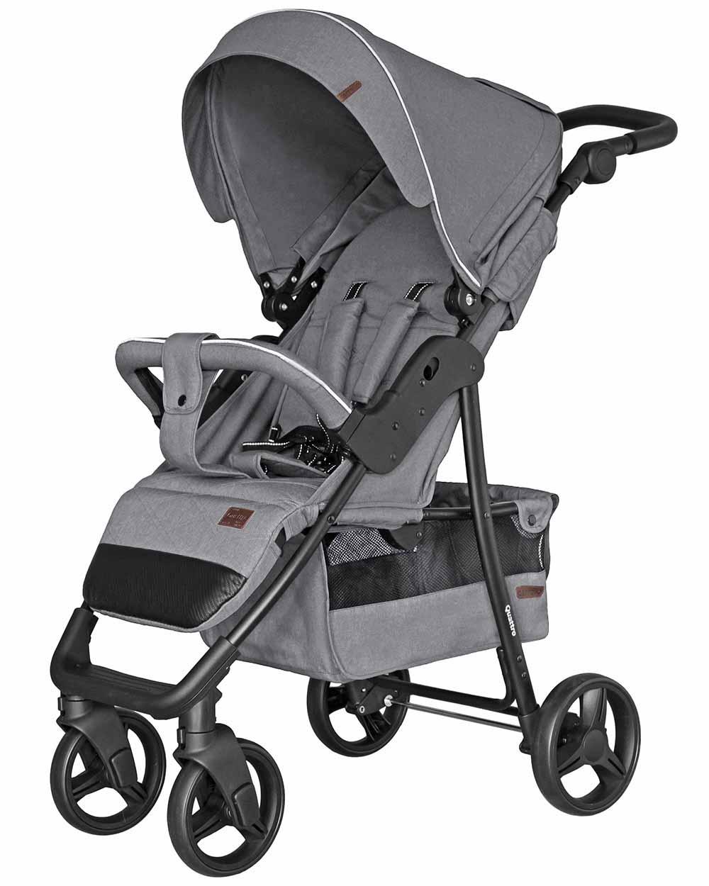 Детская коляска прогулочная  CARRELLO Quattro CRL-8502/3 Shark Gray
