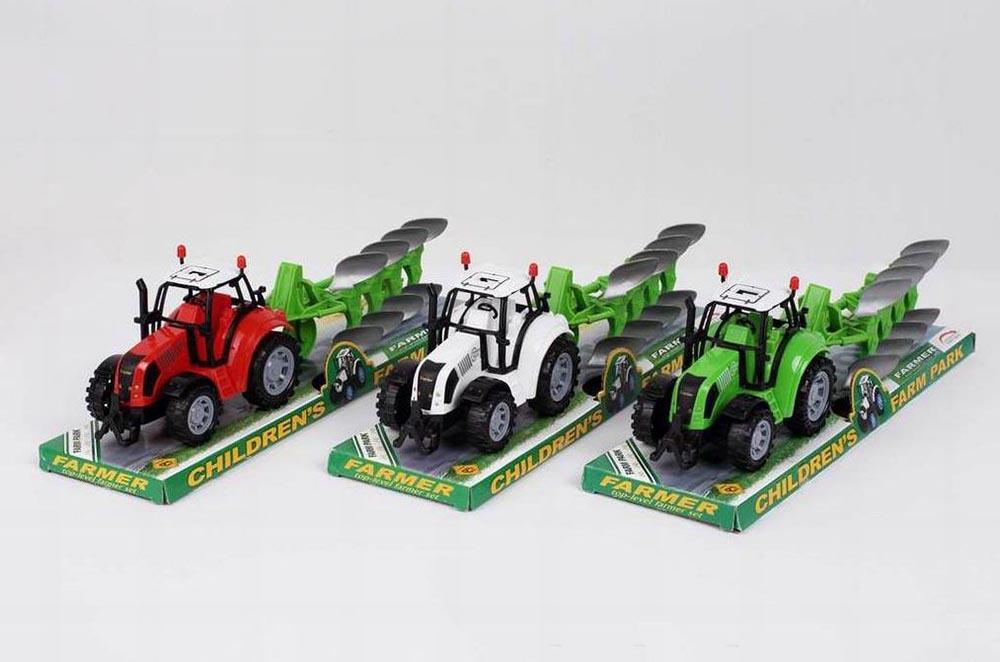 Трактор №FB17-7 сельскохозяйственный инерционный/колпак/37*10*13,5