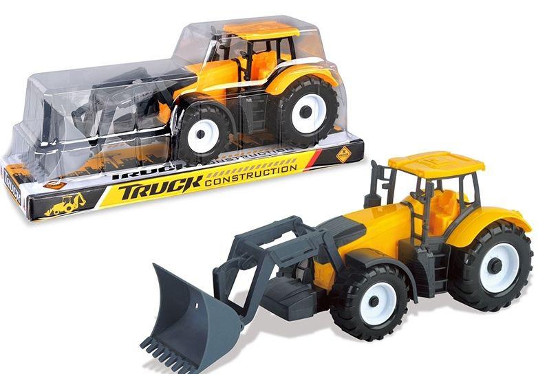 Трактор-погрузчик №0605 инерционный/колпак/33*11,5*14