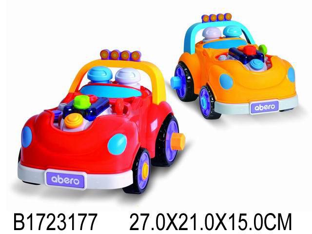 """Муз.развив.игрушка игровой центр""""Машинка""""(звук,свет,бат. 3*АА не в компл.)цвет микс (Арт. QX-91109E)"""