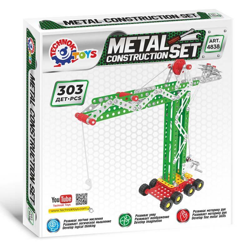 Конструктор метал. Строительный кран Т4838