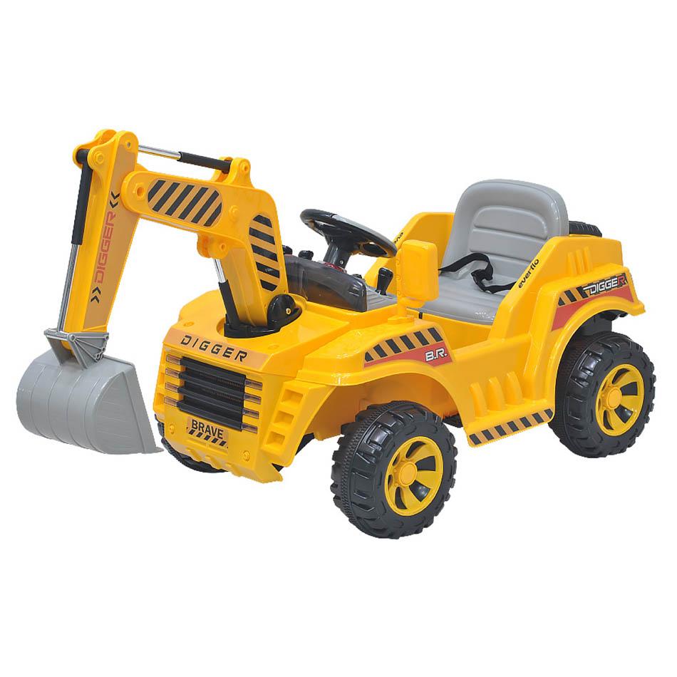 Аккумулятрная детская машина Everflo Digger ЕА99177