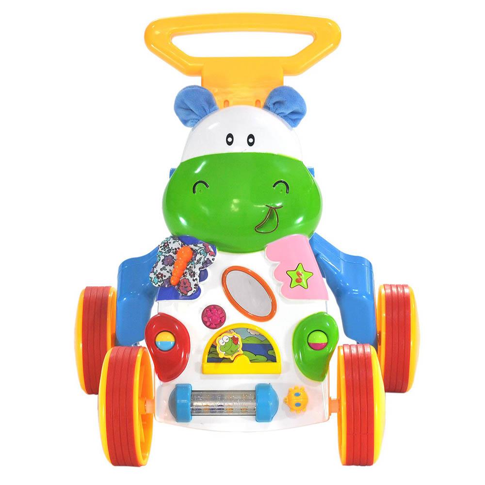 Игровой центр-ходунок  Everflo Happy Hippo HS0287737