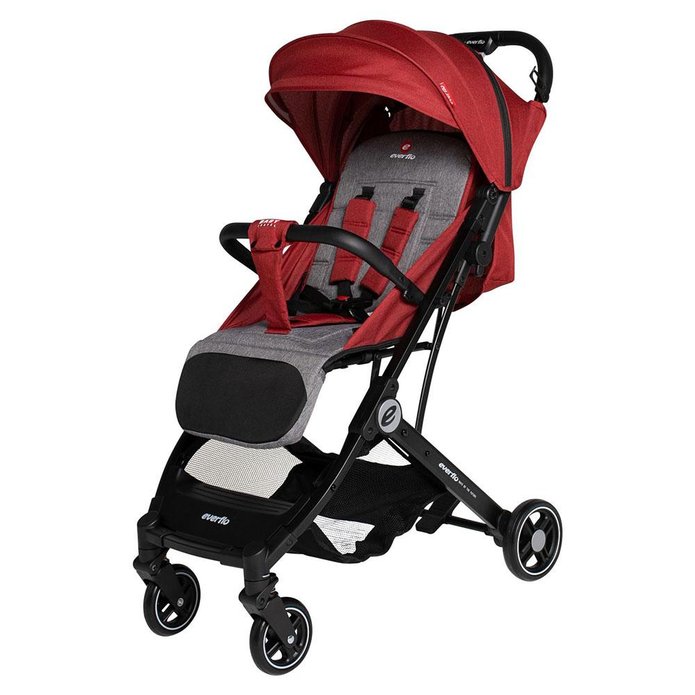 Коляска прогулочная Everflo Baby travel E-330 DARK RED