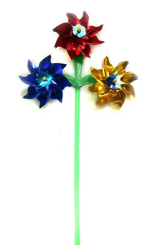 Серия Веселые забавы: Ветерок (37 см) 3 цветка (в пакете) (Арт. AN02809)