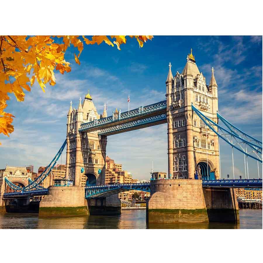 Алмаз. моз. квадратная22x32(класс.) с подр.,полн.зап. (24 цв.)Тауэрский мост в Лондоне (Арт. F3-007)