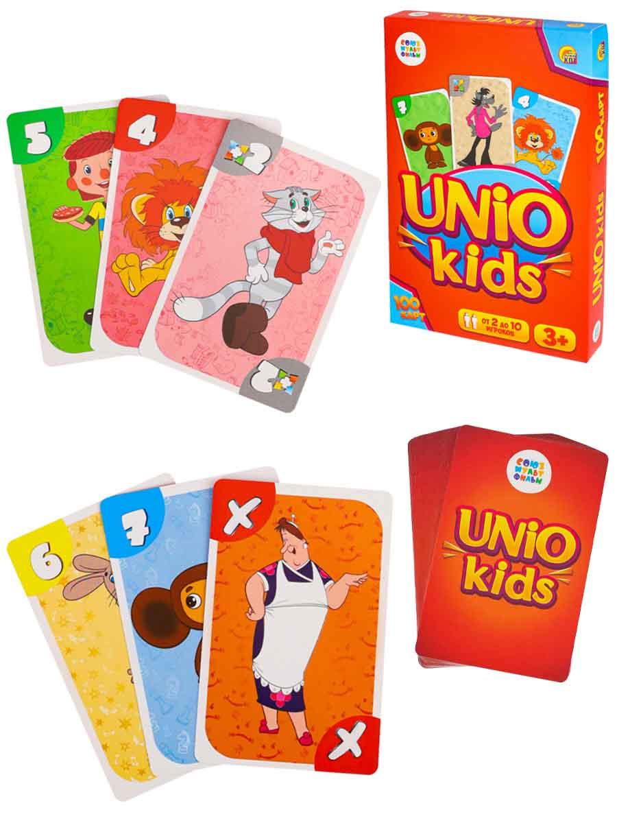 Настольная игра. УНИОКИДС (UNIO kids) Союзмультфильм (Арт. ИН-5042)