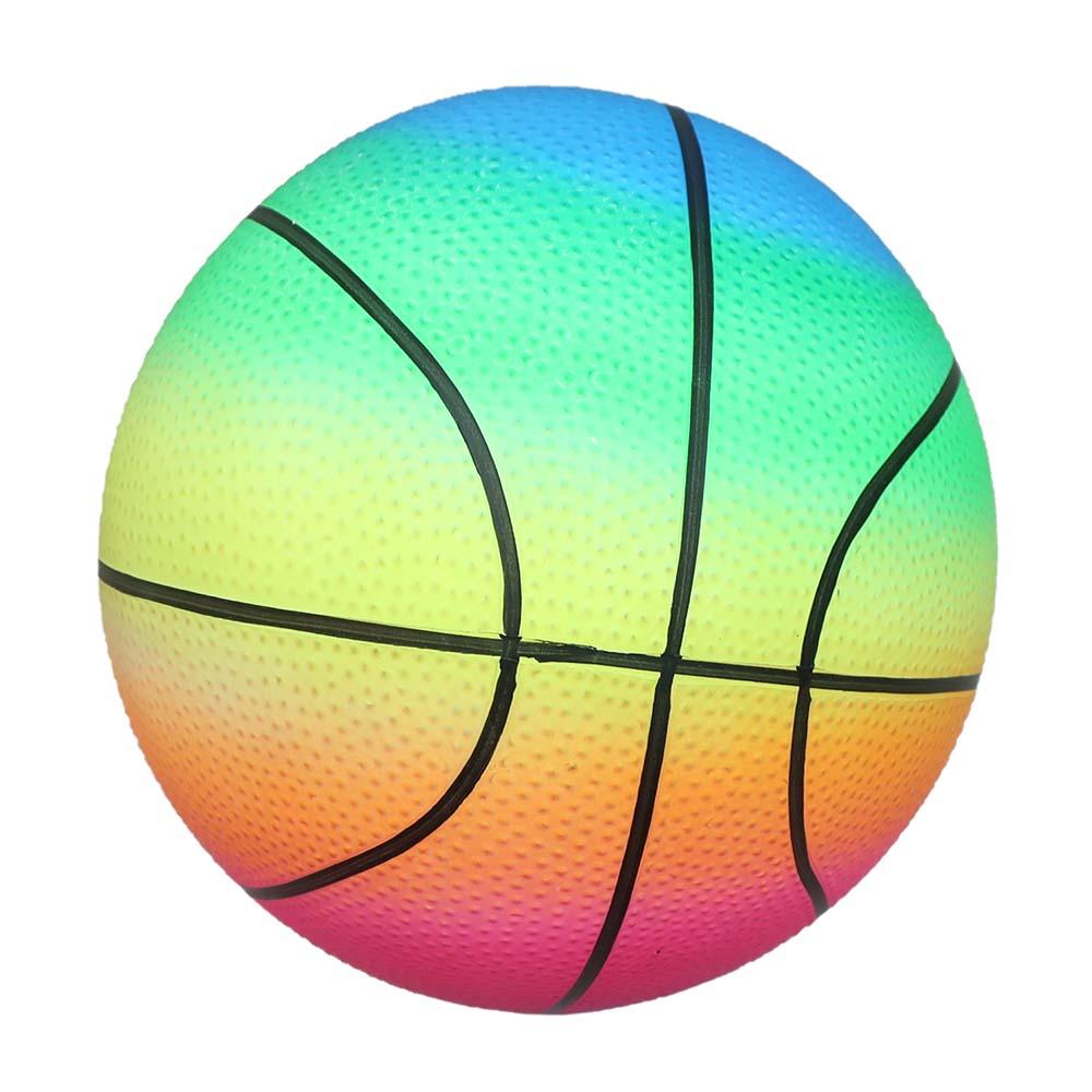 Мяч детский (23 см, 150гр) неон, баскетбол Арт. AN01740