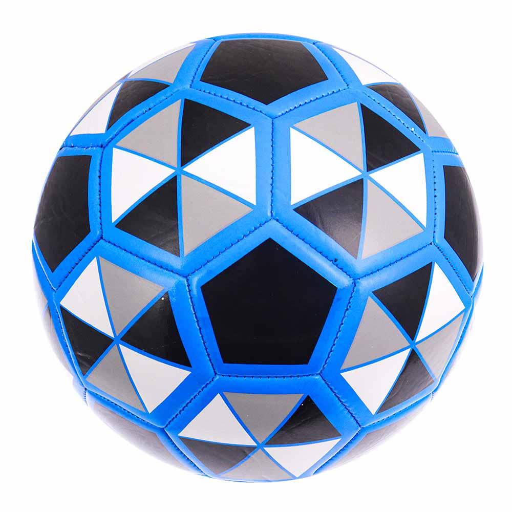 Мяч футбольный  ПВХ глянцевый  4 цвета микс (арт.TY27)