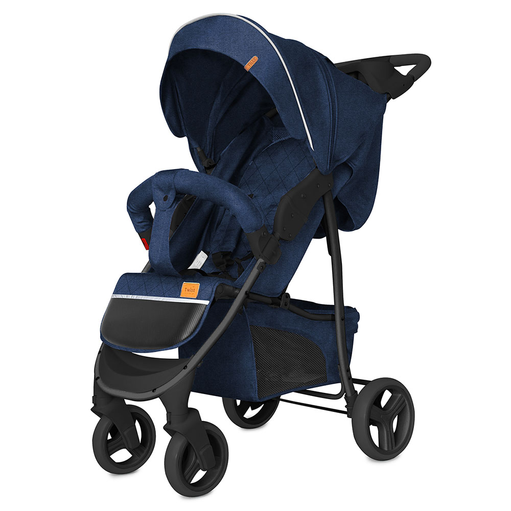 Коляска прогулочная BABY TILLY T  T-164 Twist Imperial Blue