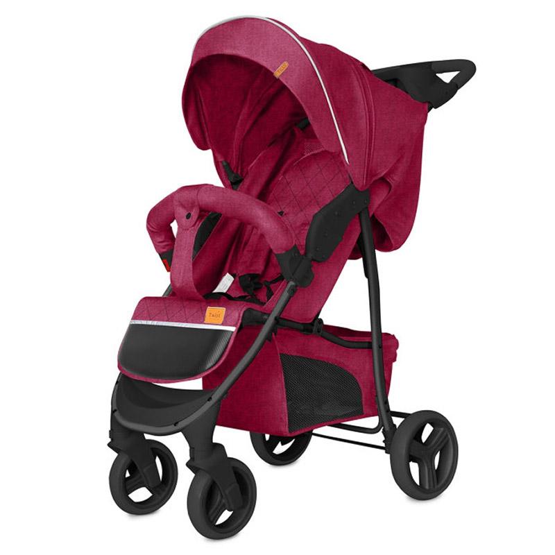 Коляска прогулочная BABY TILLY T  T-164 Twist Velvet Red