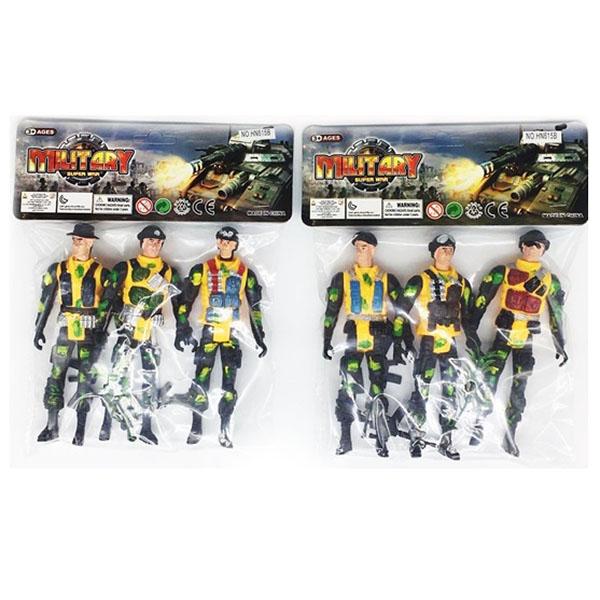 Набор HN615B солдаты в пакете 15*7*3
