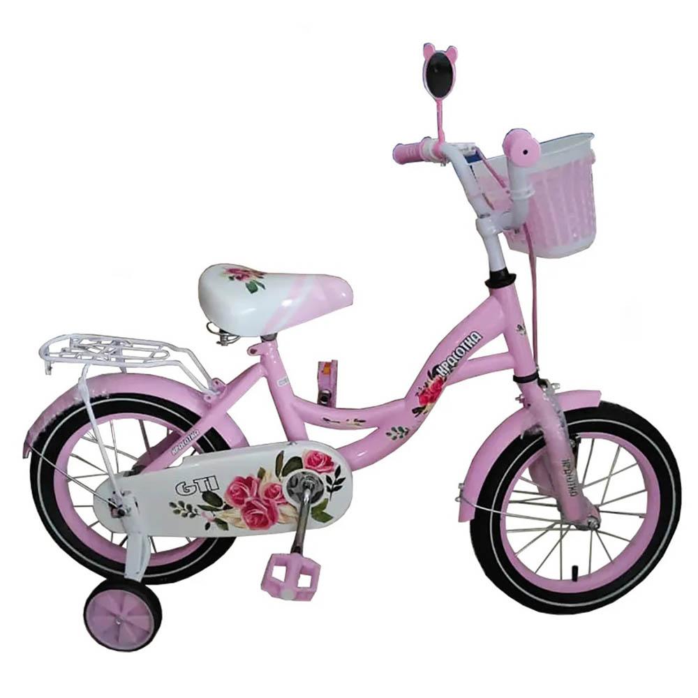 Велосипед 2-х колесный 14 GTI красотка