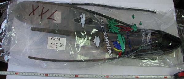 Ласты для подводного плаванья xxl (F-6849)
