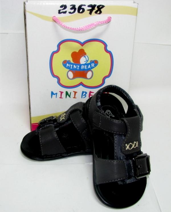 Обувь М12051 мальчик 21-25 серый