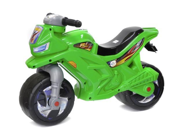 МОТОЦИКЛ 2-х колесный зелений 501 Орион