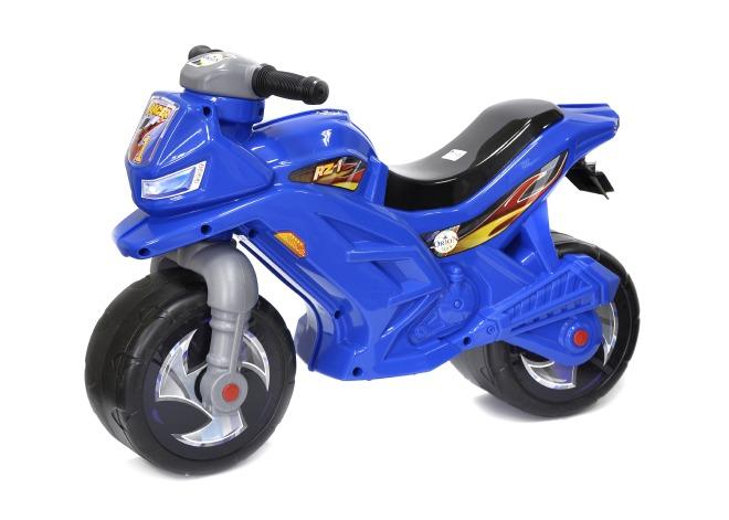 МОТОЦИКЛ 2-х колесный  синий 501 Орион