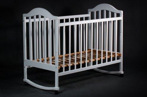 """Кроватка детская """"Наполеон"""" бел."""