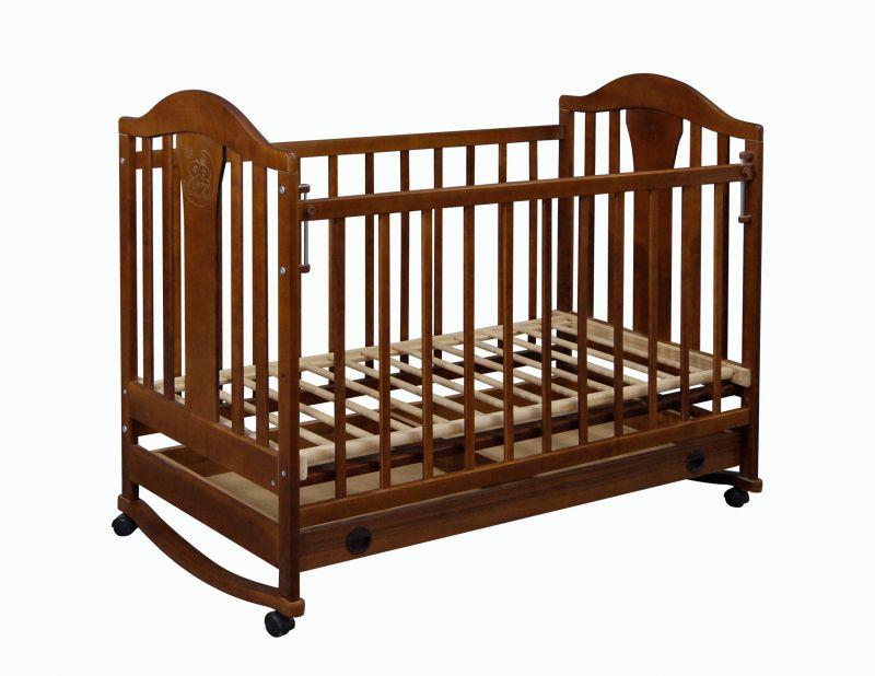 Кроватка детская Наполеон NEW орех