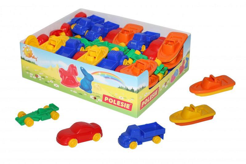 Игрушка транспортная Мини (дисплей №1) 53527
