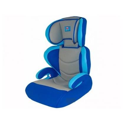 Автокресло детское 15-36кг. Little Car 01 M3 серый-синиий