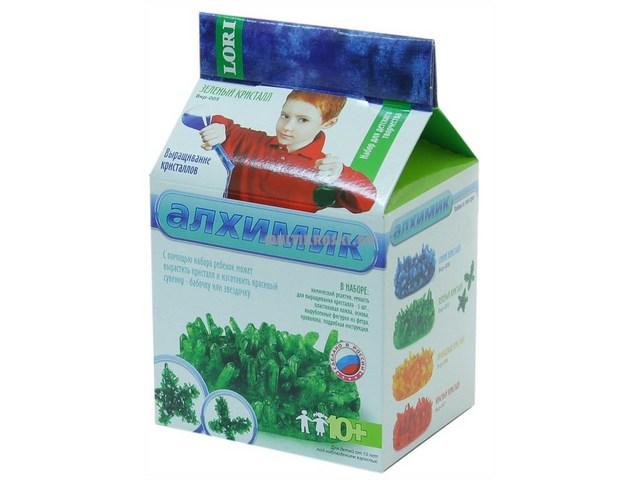 """Выращивание кристаллов """"Зеленые кристалл"""" Вкр-005"""