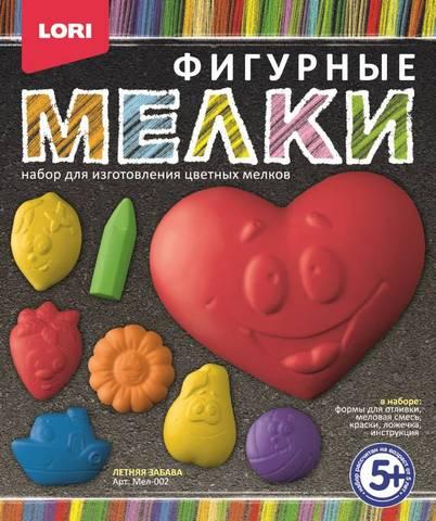 """Мелки фигурные """"Летняя забава"""" Мел-002"""