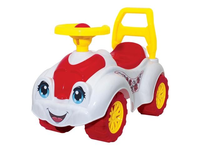 Автомобиль для прогулок Бело-Розовый 3503 Технок