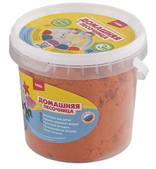 """""""Домашняя песочница """"""""Оранжевый песок"""""""" 1 кг Дп-012"""""""