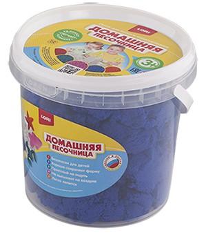 """Домашняя песочница """"Синий песок"""" 1 кг Дп-015"""