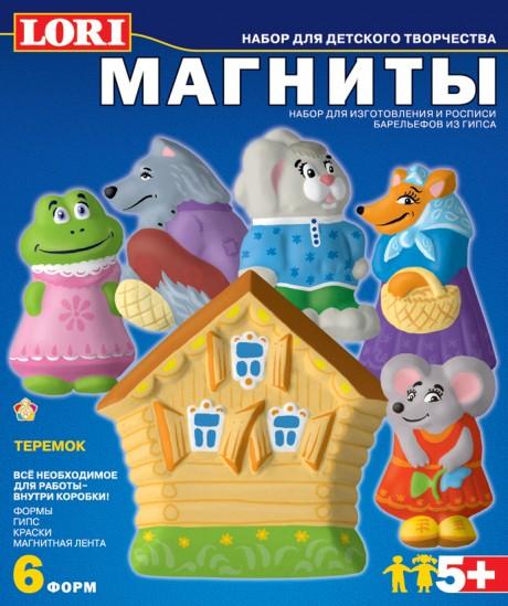 "Фигурки на магнитах ""Теремок"" М-017"