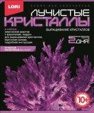 """Лучистые кристаллы """"Фиолетовый кристалл"""" Лк-007"""