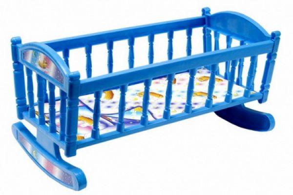 Кроватка для куклы  С0013