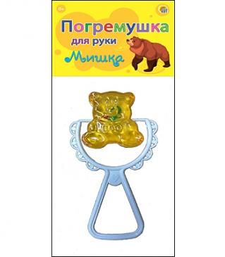 ПОГРЕМУШКА ДЛЯ РУК. TM Profit. МИШКА  И-1095