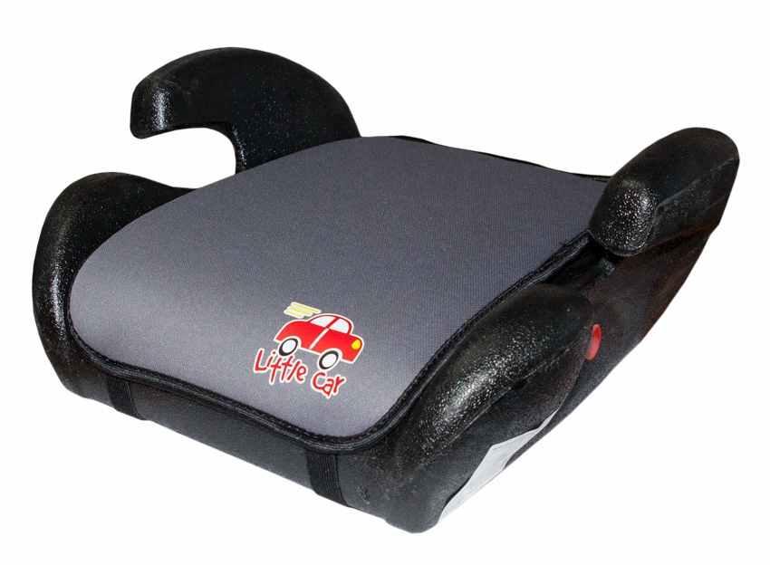Бустер детский 22-36кг. Little Car Trip карбон 125990