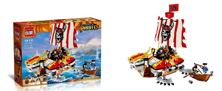 Конструктор Brick. Pirates 1312