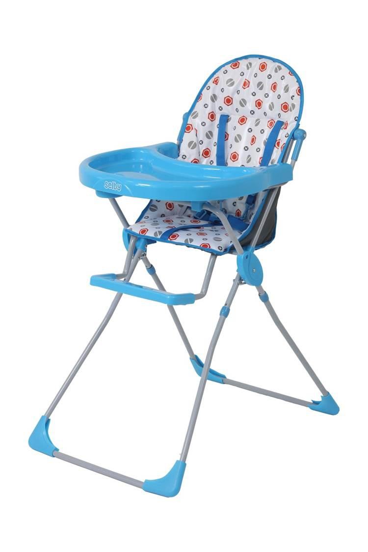 Стульчик для кормления Selby 152 голубой